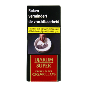 Djarum super filter kretek cigarillos