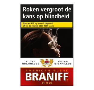 Braniff  Red Cigarillos sigaren 20 stuks
