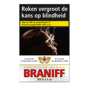 Braniff white Cigarillos sigaren 20 stuks