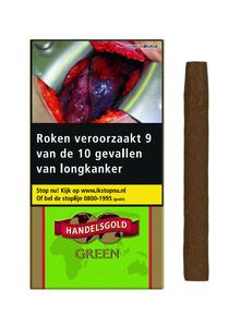 Handelsgold gearomatiseerde sigaren appel/green