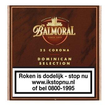 Balmoral Sigaren Dominican Selection Corona 25