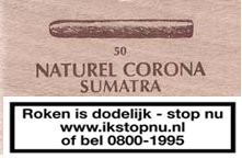 Sigaren Sumatra Naturel Corona No 72