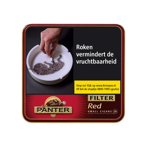 Panter Red Sigaren (vanilla) Filter 20