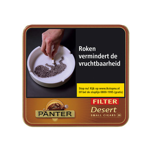 Panter Sigaren Desert Filter 20