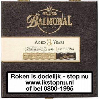 Balmoral Aged 3 years  Corona Sigaren