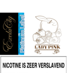 EXCLUCIG PLATINUM LABEL E-LIQUID LADY PINK 10ML