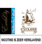 EXCLUCIG PLATINUM LABEL E-LIQUID CYCLONE 10ML