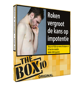 The box red sigaren