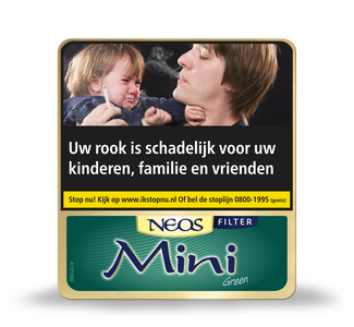 Neos Green Mini met filter cigarillo