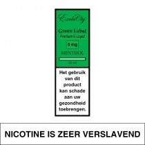E-Liquid Exclucig Green Label Menthol 10Ml