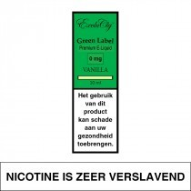 E-Liquid Exclucig Green Label Vanilla 10Ml