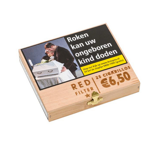 (NIET LEVERBAAR) Special price red filter 25 cigarillos