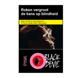 Black Devil pink sigaretten (niet leverbaar)