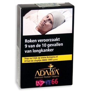 Adaya Love 66 waterpijptabak 50 gram
