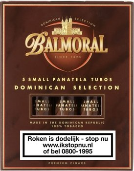 Balmoral Dominican Selection-small-panatella 5 stuks