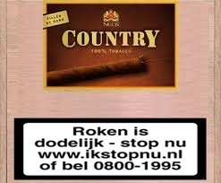 Country wilde cigarillos sigaren