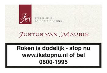 Justus van Maurik Petit corona sigaren 10