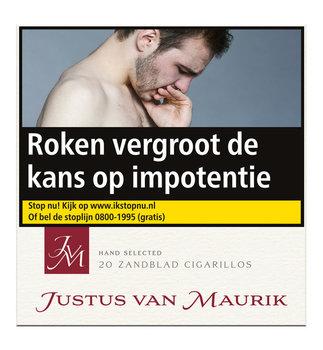 Justus van Maurik Zandblad Cigarillo sigaren 20
