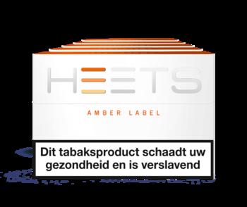 Heets Amber Label (voor de Iqos)
