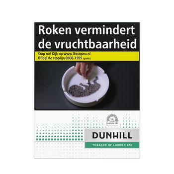 Belinda filter kings menthol sigaretten wordt Dunhill Subtle Green XL