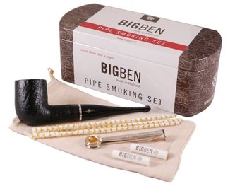 Big ben smoking set sandblast straight