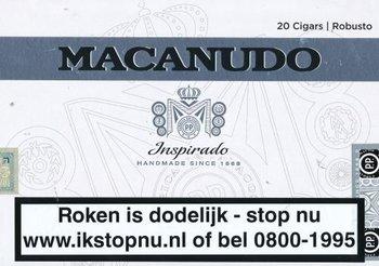 Macanudo White sigaren (Robusto)