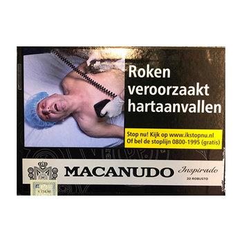 Macanudo Black sigaren (Robusto)