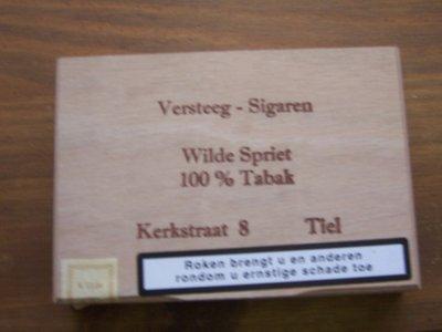 Versteeg  Wilde Spriet 100% tabak