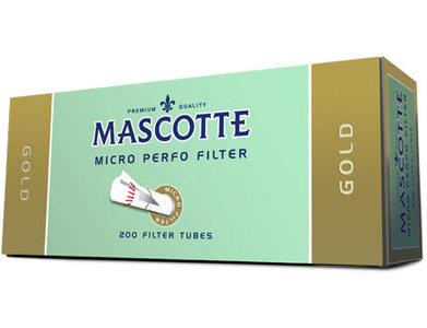Mascotte sigarettenhulzen gold