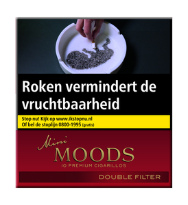 Moods mini double filter sigaren
