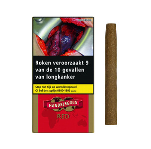 Handelsgold gearomatiseerde sigaren Cherry/red