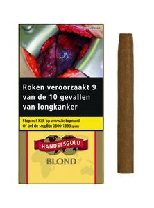 Handelsgold gearomatiseerde sigaren vanille/blanc