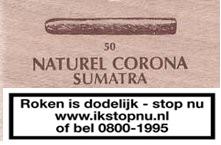 Sigaren Sumatra Naturel Corona No 72
