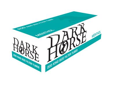 Dark Horse Sigaretten Menthol Hulzen (200 hulzen)
