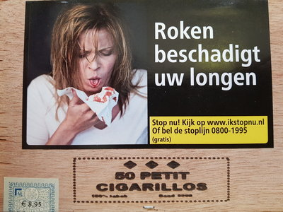 petit cigarillos van Hoogeboom's (50)