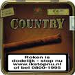 Country 20 mini cigarillos sigaren